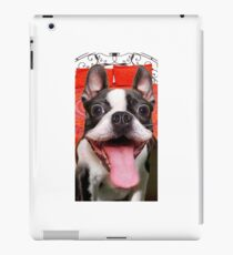 FUNNY GOOFY BOSTON TERRIER DOG~Just Try not TO Laugh! iPad Case/Skin