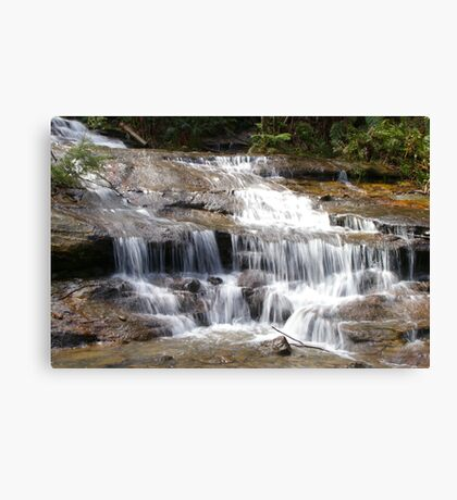 Waterfall in Blue Mountains, NSW Canvas Print