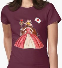 Queen of Hearts Women's Fitted T-Shirt