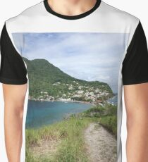 Caribbean Ocean Graphic T-Shirt