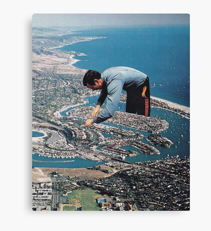 Urban Planning Canvas Print
