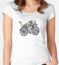 Bicycle Day 'Albert Hofmann' Women's Fitted Scoop T-Shirt