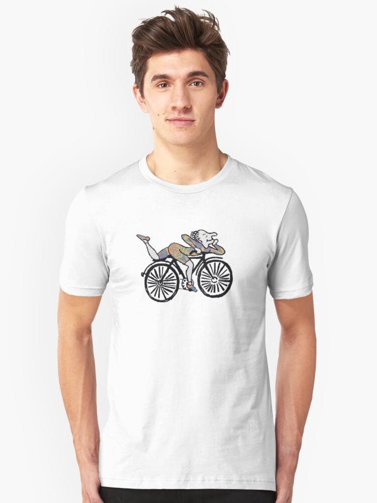 Bicycle Day 'Albert Hofmann' Unisex T-Shirt Front