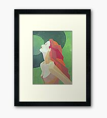 One glance away from heaven Framed Print