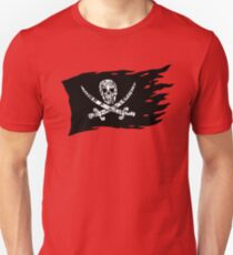 Digital Pirate Jolly Roger Unisex T-Shirt