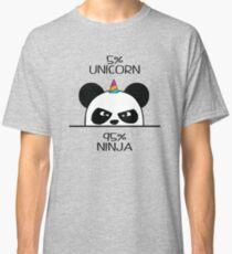 Unicorn Ninja Panda Classic T-Shirt