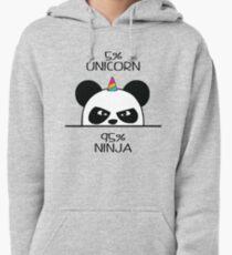 Unicorn Ninja Panda Pullover Hoodie