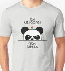 Unicorn Ninja Panda T-Shirt