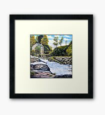 The Mill on the River Framed Print
