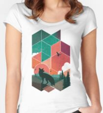 Natural Habitat Women's Fitted Scoop T-Shirt