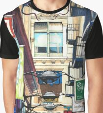 Melbourne Street Signs Graphic T-Shirt