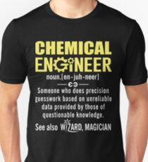 Chemical Engineer Shirt - Chemical Engineer Definition Unisex T-Shirt
