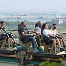 Portaventura Pre-Rollercoaster by jonvin