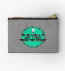You can learn a lot about a person.... Studio Pouch