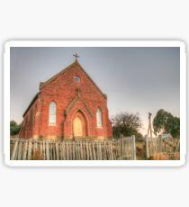 Hill End Church  Sticker