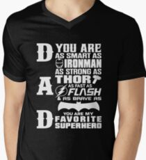Dad - Superhero - Dad Gifts For Father's Day T-Shirt