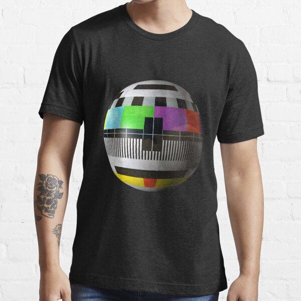 3D TV test pattern  Essential T-Shirt
