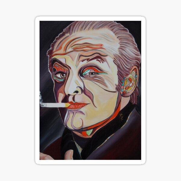 Jack Nicholson Portrait Sticker