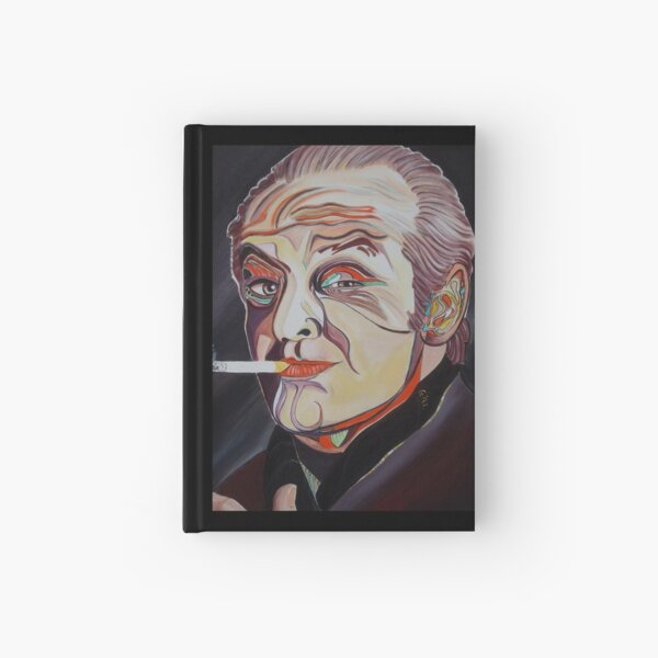 Jack Nicholson Portrait Hardcover Journal