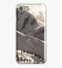 Blackcomb Boundary, Disease Ridge & Fissile iPhone Case/Skin