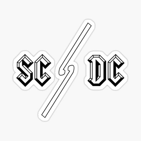 SC / DC Sticker