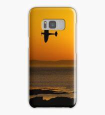 Sunset Spitfire Sortie Samsung Galaxy Case/Skin