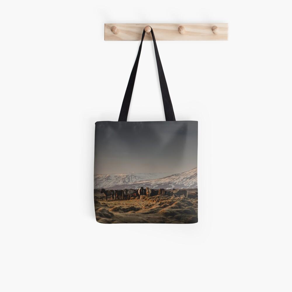 Icelandic Horses I Tote Bag