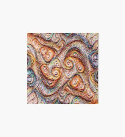 Frozen Abstract Energy #DeepDream #Art Art Board Print