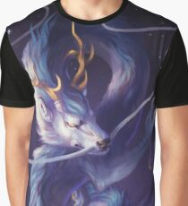Cosmic Dragon Graphic T-Shirt