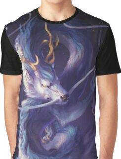 Cosmic Dragon Graphic T-Shirt