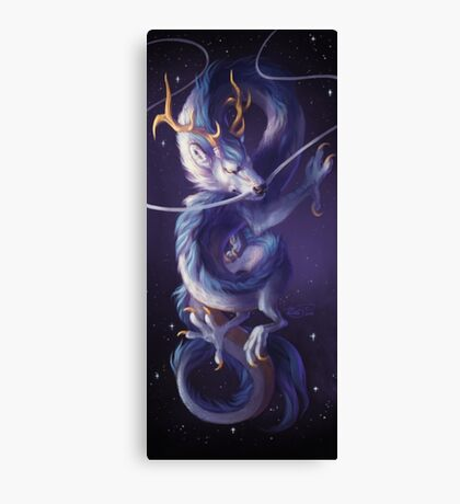 Cosmic Dragon Canvas Print