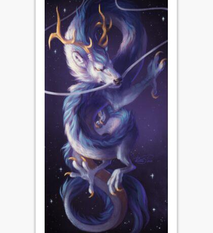 Cosmic Dragon Sticker