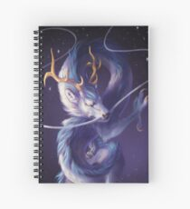 Cosmic Dragon Spiral Notebook