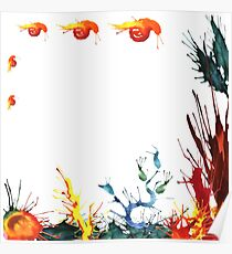 A scene of a sea life Poster
