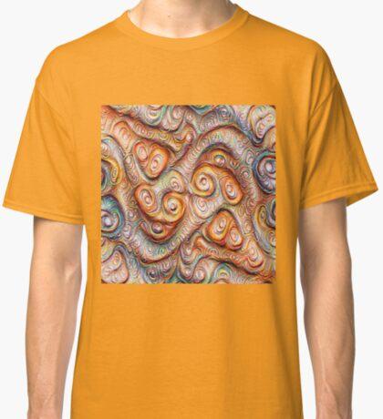 Frozen Abstract Energy #DeepDream #Art Classic T-Shirt