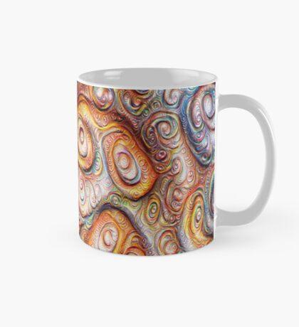 Frozen Abstract Energy #DeepDream #Art Mug