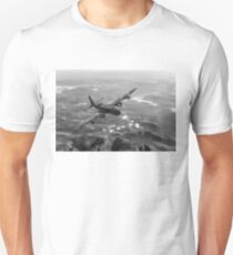 Short Stirling air test B&W version T-Shirt