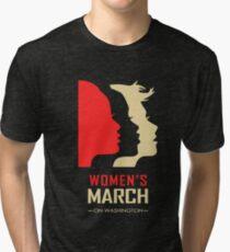 Women's March on Washington Tri-blend T-Shirt