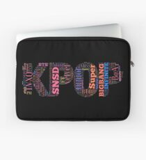 Kpop typography art Laptop Sleeve