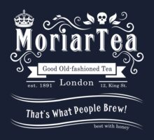 MoriarTea 2014 Edition (white) | Unisex T-Shirt