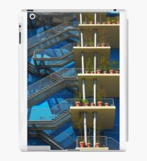 Fire Stairs iPad Case/Skin