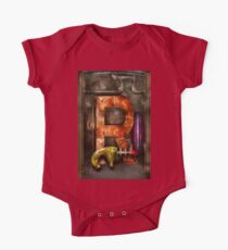 Steampunk - Alphabet - R is for Ray Gun One Piece - Short Sleeve
