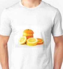 Oranje Lemon Unisex T-Shirt