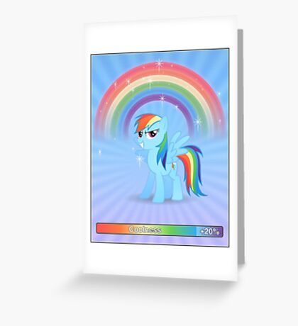 20% cooler - with text Greeting Card