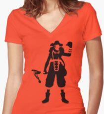 """""""God"""" Usopp Women's Fitted V-Neck T-Shirt"""