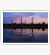 Psyche Sunset Sticker