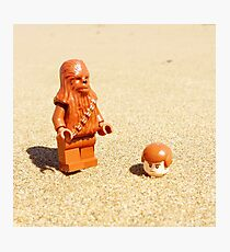 Chewy & Han Go To The Beach Photographic Print