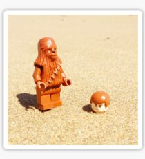 Chewy & Han Go To The Beach Sticker