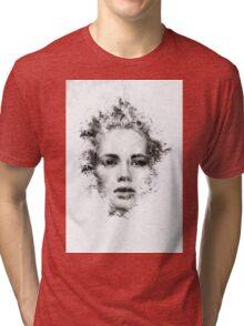 Woman Portrait Tri-blend T-Shirt