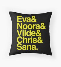Skam girls Throw Pillow